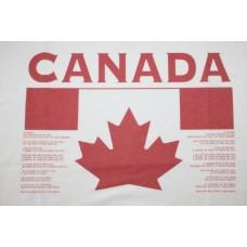 Tričko Kanada vz. 1 - biela