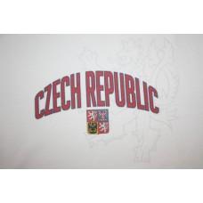 Tričko Czech republic vz. 13 - biela