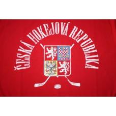 Mikina bez kapucne Czech vz. 16 - červená