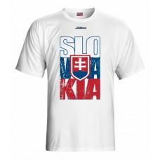 Tričko SLOVENSKO 1 - biela