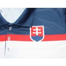Polokošeľa Slovensko - biela