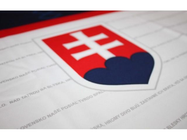 Tričko (dres) Slovensko - biela