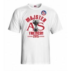 Tričko AS Trenčín Majster vz. 1 - biela