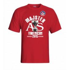 Tričko AS Trenčín Majster vz. 1 - červená