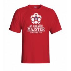 Tričko AS Trenčín Majster vz. 2 - červená