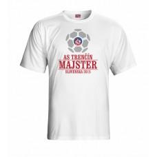 Tričko AS Trenčín Majster vz. 2 - biela