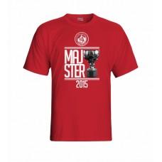 Tričko AS Trenčín Majster vz. 3 - červená