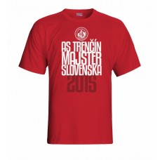 Tričko AS Trenčín Majster vz. 4 - červená