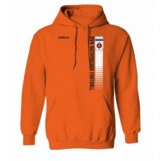 Mikina s kapucňou MFK Ružomberok 6 - oranžová