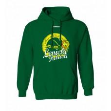 Mikina s kapucňou BK Levickí Patrioti vz. 1 - zelená