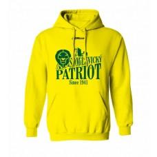 Mikina s kapucňou BK Levickí Patrioti vz. 2 - žltá
