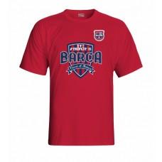 Tričko Penya Barcelonista Eslovaca vz. 1 - červená