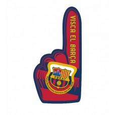 Fan ruka Penya Barcelonista Eslovaca