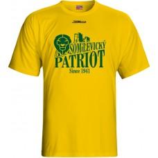 Tričko BK Levickí Patrioti vz. 2 - žltá