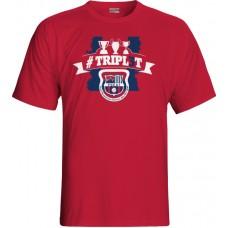 Tričko Penya Barcelonista Eslovaca vz.3 - červená