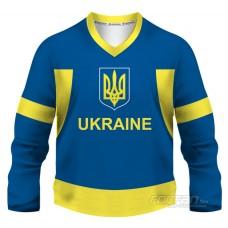 Ukrajina - fanúšikovský dres, modrá verzia