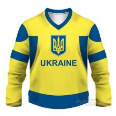 Ukrajina - fanúšikovský dres, žltá verzia