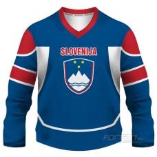Slovinsko - fanúšikovský dres, modrá verzia