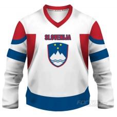 Slovinsko - fanúšikovský dres, biela verzia