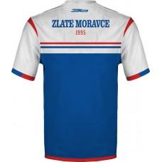 Tričko (dres) FC ViOn Zlaté Moravce vz. 2 - modrá–tmavomodrá