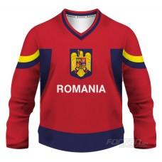 Rumunsko - fanúšikovský dres, červená verzia