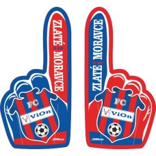 Fan ruka FC ViOn Zlaté Moravce 2015
