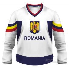 Rumunsko - fanúšikovský dres, biela verzia