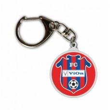 Prívesok logo FC ViOn Zlaté Moravce  2015 vz. 2