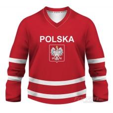 Poľsko - fanúšikovksý dres, červená verzia
