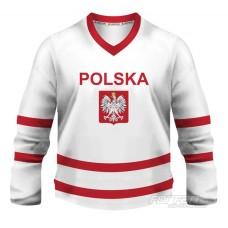 Poľsko - fanúšikovský dres, biela verzia
