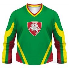 Litva - fanúšikovský dres, zelená verzia