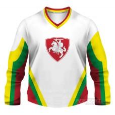 Litva - fanúšikovský dres, biela verzia