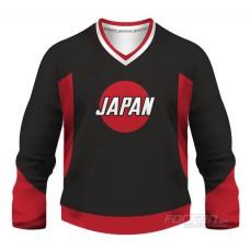Japonsko - fanúšikovský dres, čierna verzia