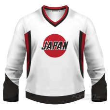 Japonsko - fanúšikovský dres, biela verzia