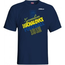 Tričko  MFK Zemplín Michalovce vz. 16 - modrá–tmavomodrá