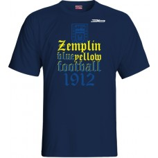 Tričko  MFK Zemplín Michalovce vz. 18 - modrá–tmavomodrá