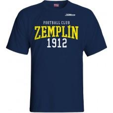 Tričko  MFK Zemplín Michalovce vz. 19 - modrá–tmavomodrá