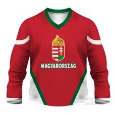 Maďarsko - fanúšikovský dres, červená verzia
