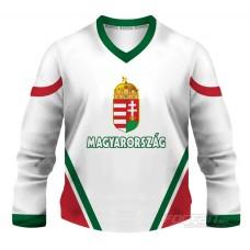 Maďarsko - fanúšikovský dres, biela verzia