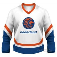 Holandsko - fanúšikovský dres, biela verzia
