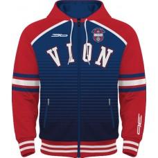 Mikina na zips s kapucňou FC ViOn Zlaté Moravce