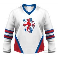 Veľká Británia - fanúšikovský dres, biela verzia