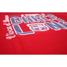 Tričko Penya Barcelonista Eslovaca vz. 2 - červená