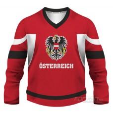 Rakúsko - fanúšikovský dres, červená verzia