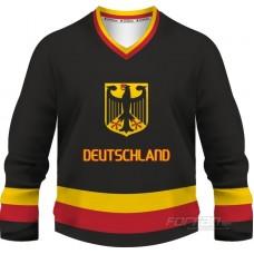 Nemecko - fanúšikovský dres, čierná verzia