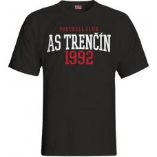 Detské tričko AS Trenčín vz. 19 - čierna