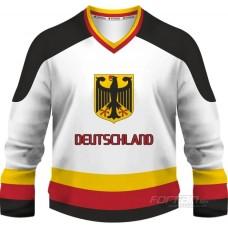 Nemecko - fanúšikovský dres, biela verzia