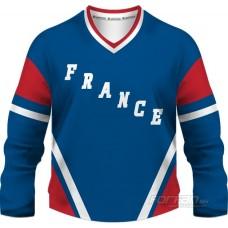 Francúzsko - fanúšikovský dres, modrá verzia