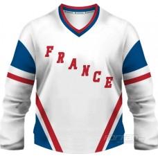 Francúzsko - fanúšikovský dres,  biela verzia
