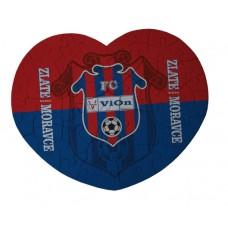 Puzzle srdce FC ViOn Zlaté Moravce